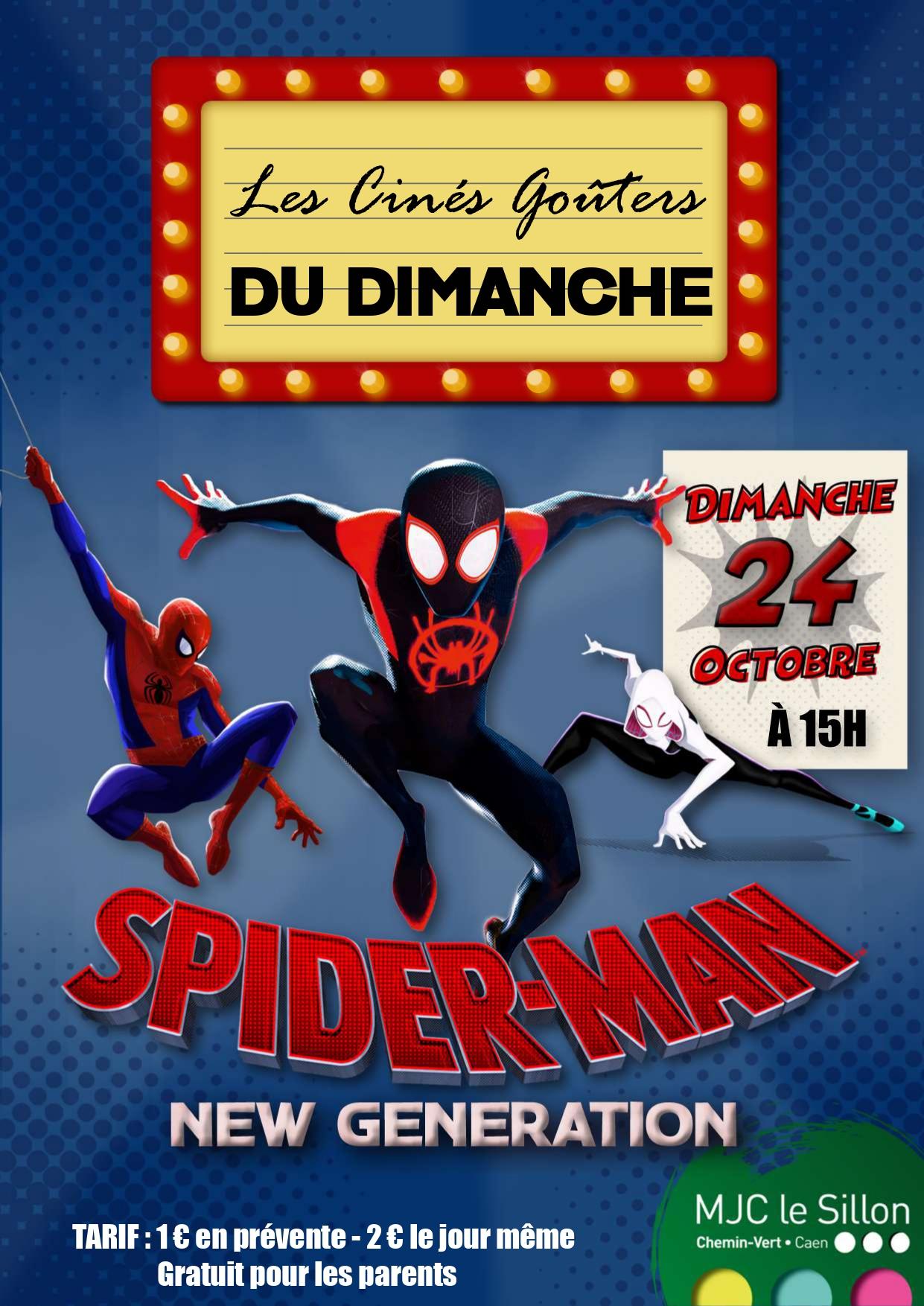 Ciné Gouter Spiderman au Sillon